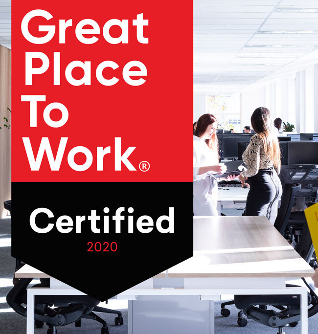 Novotech Certified as a 'Great Workplace 2020'