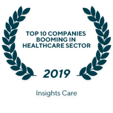 "2019 Insights Care ""The 10 Companies Booming in Healthcare Sector"""