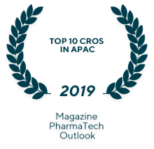 "Magazine PharmaTech Outlook ""Top 10 CRO"" in 2018"