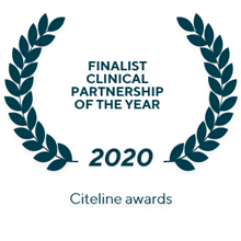 Finalist Clinical Partnership of the Year (2020) Citeline awards
